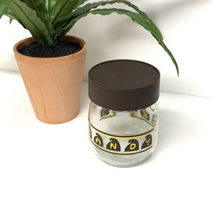 Vintage | Carlton USA Candy Canister Jar